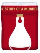 No194 My Perfume The Story Of A Murderer Minimal Movie Poster Duvet Cover by Chungkong Art
