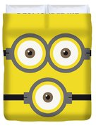 No213 My Despicable Me Minimal Movie Poster Duvet Cover
