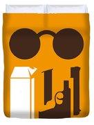 No239 My Leon Minimal Movie Poster Duvet Cover