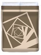 No243 My Memento Minimal Movie Poster Duvet Cover