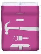 No258 My Drive Minimal Movie Poster Duvet Cover