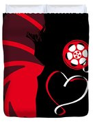 No277-007 My From Russia With Love Minimal Movie Poster Duvet Cover