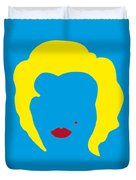 No284 My Week With Marilyn Minimal Movie Poster Duvet Cover