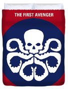 No329 My Captain America - 1 Minimal Movie Poster Duvet Cover