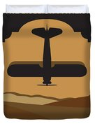 No361 My The English Patient Minimal Movie Poster Duvet Cover