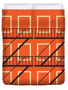 No387 My West Side Story Minimal Movie Poster Duvet Cover