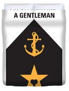 No388 My An Officer And A Gentleman Minimal Movie Poster Duvet Cover