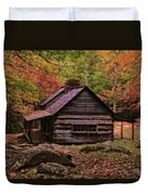 Noah Ogle Place In The Smoky Mountains Duvet Cover