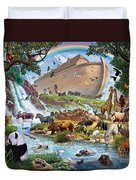 Noahs Ark - The Homecoming Duvet Cover by Steve Crisp