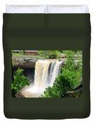 Noccalola Falls Duvet Cover
