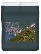 Nocelle Above Postitano Duvet Cover