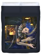 Nocturne Duvet Cover by Dorina  Costras