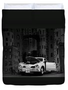 Noir City Duvet Cover