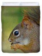 Nom Nom Squirrel  Duvet Cover