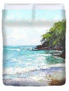 Noosa Heads Main Beach Queensland Australia Duvet Cover