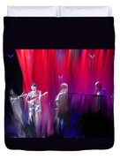 Norah Jones On Stage Duvet Cover