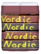 Nordic Rusty Steel Duvet Cover