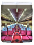 Norfolk And Western Passenger Coach Duvet Cover