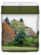 Norfolk Botanical Gardens Canal 9 Duvet Cover