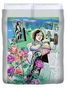 Norma Shearer Duvet Cover