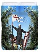 Norman Crusader Duvet Cover