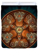 Norse Chieftain's Shield Duvet Cover