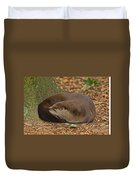 North American River Otter Duvet Cover