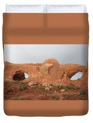 North And South Window Arches Np Duvet Cover