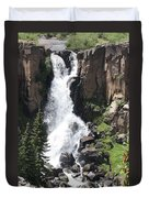 North Clear Creek Falls Duvet Cover