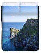 Photographs Of Cornwall North Coast  Cornwall Duvet Cover