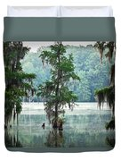 North Florida Cypress Swamp Duvet Cover