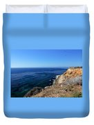 North From Palos Verdes Duvet Cover