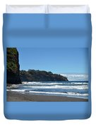 North Kona Coastline 1 Duvet Cover