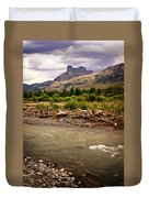 North Of Dubois 2 Duvet Cover by Marty Koch