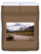 North Of Dubois 3 Duvet Cover by Marty Koch