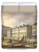 North Parade, From Bath Illustrated Duvet Cover