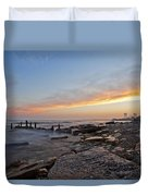 North Point Sunset Duvet Cover