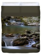 North Prong Of Flat Fork Creek Duvet Cover