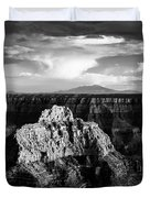 North Rim Duvet Cover by Dave Bowman