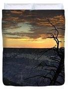 North Rim Dawn Duvet Cover
