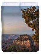 North Rim Sunrise 1 - Grand Canyon National Park - Arizona Duvet Cover