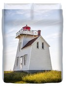 North Rustico Lighthouse Duvet Cover