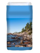North Shore Of Lake Superior Duvet Cover