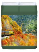 North To Crawford Notch Duvet Cover