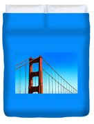 North Tower Golden Gate Duvet Cover