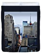 North Up Seventh Avenue Duvet Cover