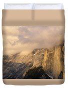 North Valley Panoramic Duvet Cover
