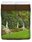 North Vista - Spring Flower Blooms At The North Vista Lawn Of The Huntington Library. Duvet Cover