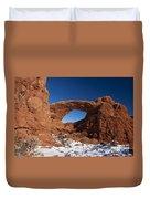 North Window Arches National Park Utah Duvet Cover