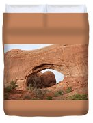 North Window  Arches Park Duvet Cover